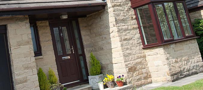 Upvc doors basingstoke abbey windows for Coloured upvc front doors