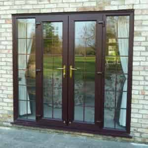 Upvc french doors reading wokingham windsor berkshire for Wood effect upvc french doors