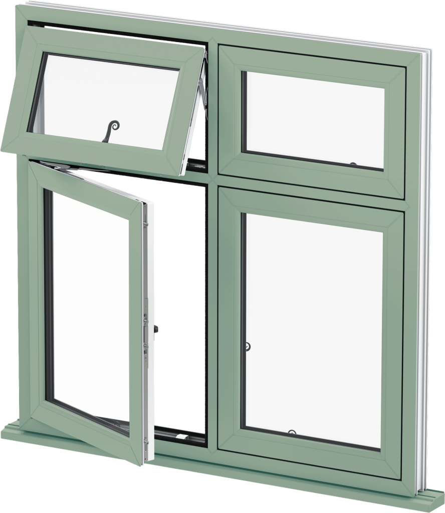 Chartwell Green Flush Casement Window Wokingham