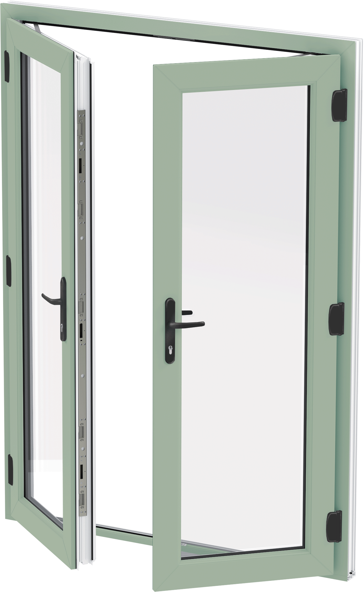 Chartwell Green uPVC French Door wokingham  sc 1 st  Abbey Windows & uPVC Doors Double Glazed Exterior Back Doors | Reading