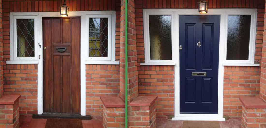Front Door Installation Wokingham Abbey Windows
