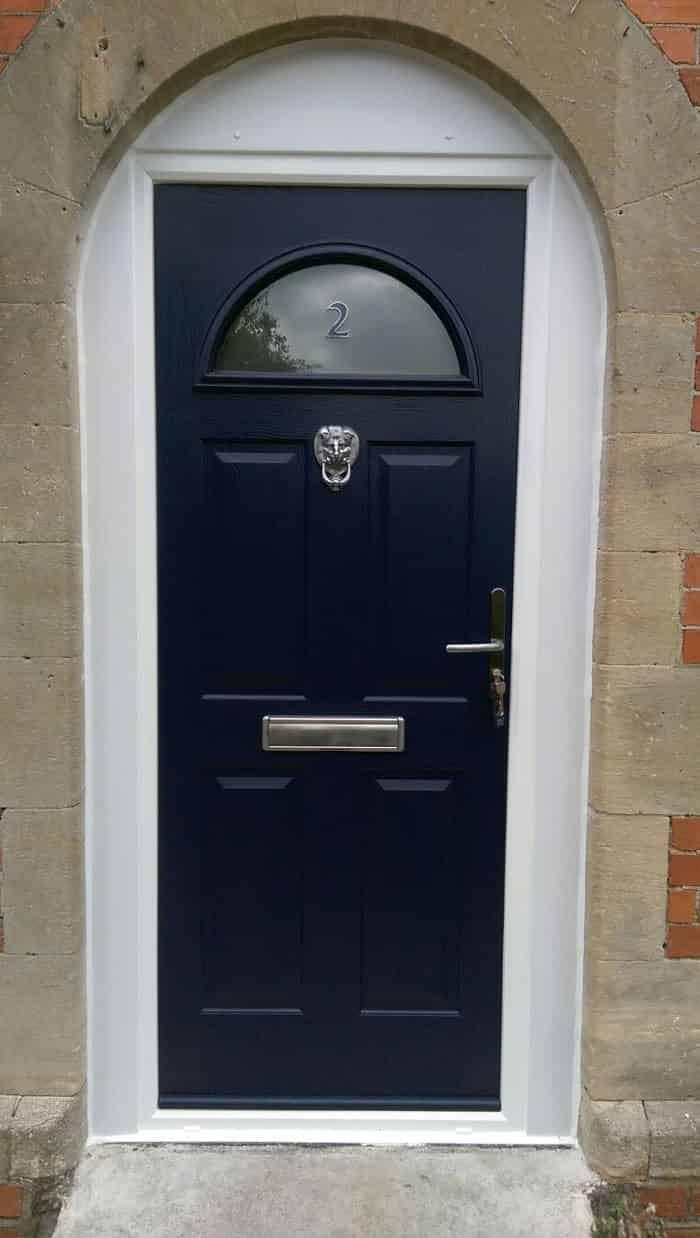 Front doors wallingford composite doors exterior doors for Composite double glazed doors