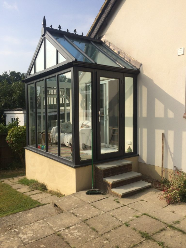 Gable-End Conservatory Reading