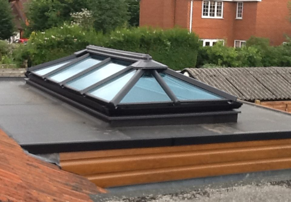 Aluminium Roof Lantern Reading