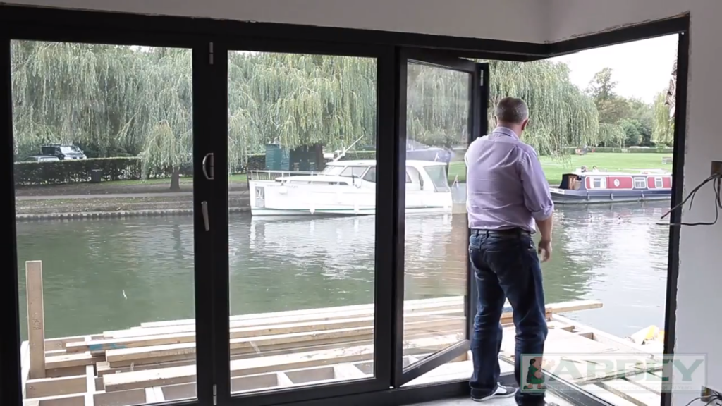 Aluminium Bi Fold Doors Installation Reading Abbey Windows