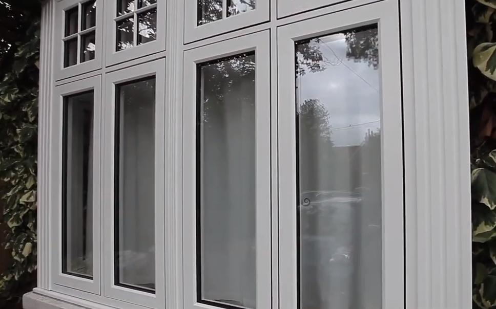 R9 Flush Casement Window