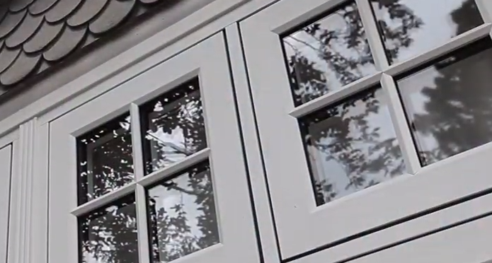 Residence 9 Flush Casement Windows