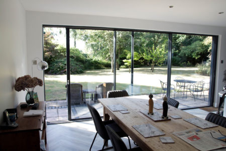 slimline patio doors