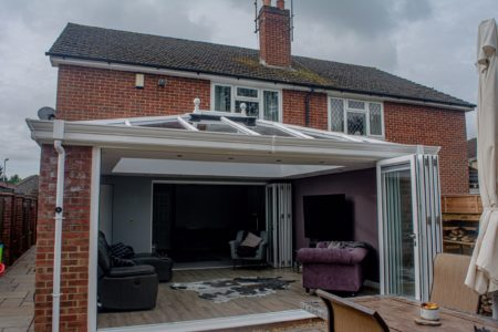 glazed extension prices basingstoke