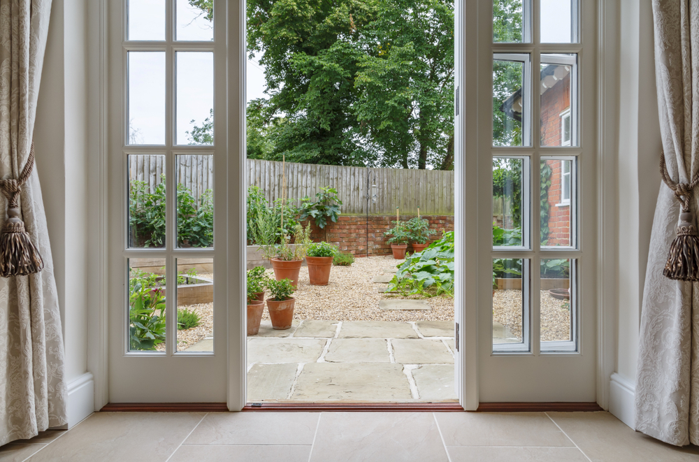 traditional and modern patio door styles comparison