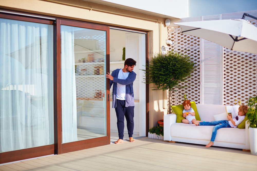 traditional and modern patio door styles
